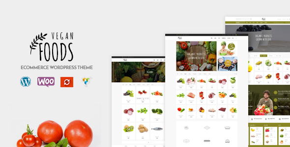 Vegan Food v5.2.3 — Organic Store, Farm Responsive Theme