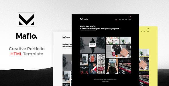 Maflo — HTML Portfolio