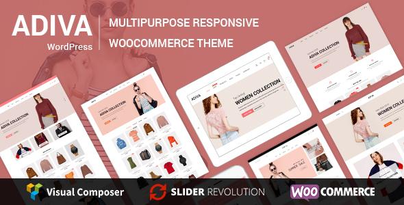 Adiva v1.8 — eCommerce WordPress Theme