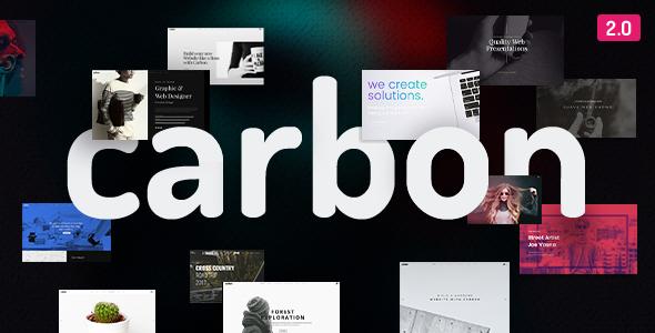Carbon v2.4.2 — Clean Minimal Multipurpose Theme