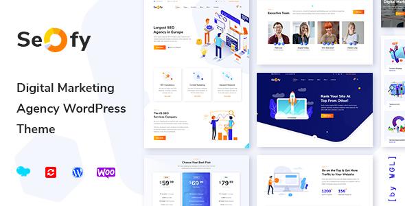 Seofy v1.2.3 — Digital Marketing Agency WordPress Theme