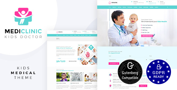 Medi Clinic v1.4 — Health, Medical Theme