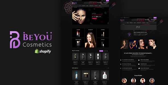 Be-You — Cometics Sectioned Shopify Theme