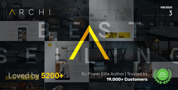 Archi v3.9.6.5 — Interior Design WordPress Theme