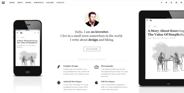 Readme v1.4.3 — A Readable WordPress Theme