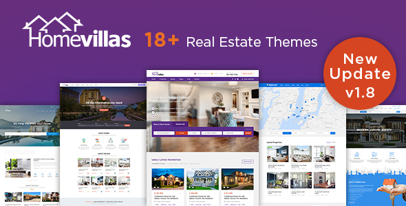Home Villas v1.8 — Real Estate WordPress Theme
