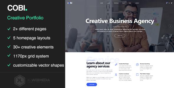 Cobi — Creative Portfolio HTML5 Template
