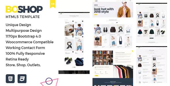 BoShop — Multipurpose eCommerce HTML5 Template