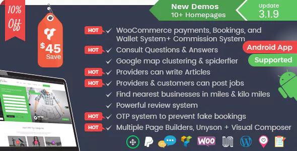 Listingo v3.1.9 — Service, Business Finder and Directory