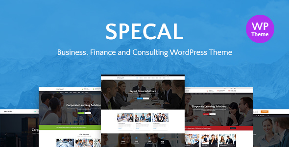 Specal v1.4 — Financial, Consulting WordPress Theme