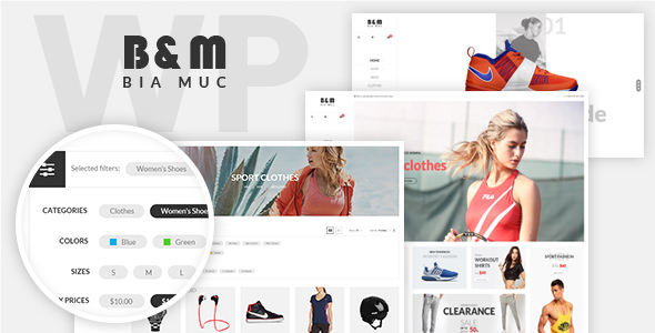 SNS BiaMuc v1.3 — WooCommerce WordPress Theme