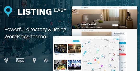 ListingEasy v1.4.3 — Directory WordPress Theme