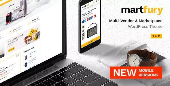 Martfury v1.5.8 — WooCommerce Marketplace Theme