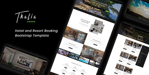 Thalia — Hotel and Resort Booking Bootstrap Template