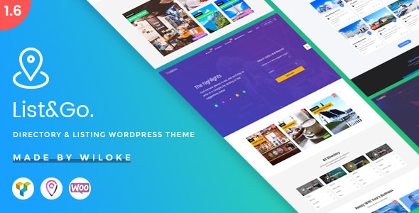 ListGo v1.9.1.1 — Directory WordPress Theme