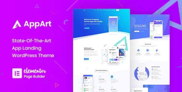 AppArt v2.5 — Creative WordPress Theme For Apps