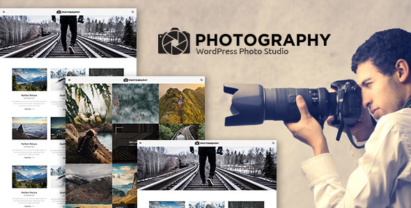 MT Photography v1.2 — Eye-catching, Unique Photo Theme