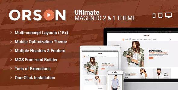 Orson v1.1.1 — Ultimate Magento 2 & 1 Theme