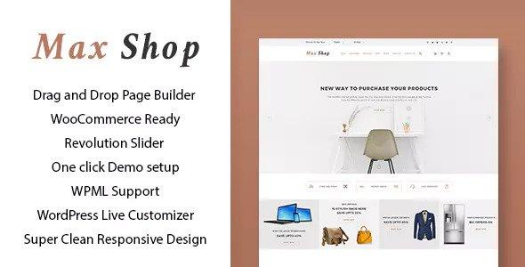 Max shop v1.1.2 — WooCommerce WordPress Theme