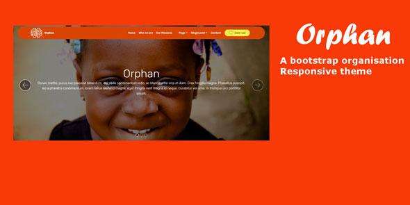 Orphan — Bootstrap Organisation Theme