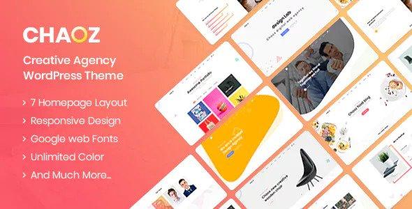 Chaoz v1.4.2 — Creative Portfolio Theme For Agency