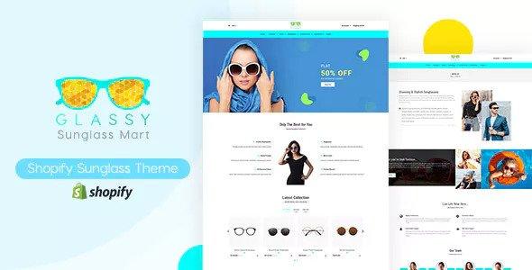 Glassy v1.0 — Sunglasses, Fashion Shopify Theme