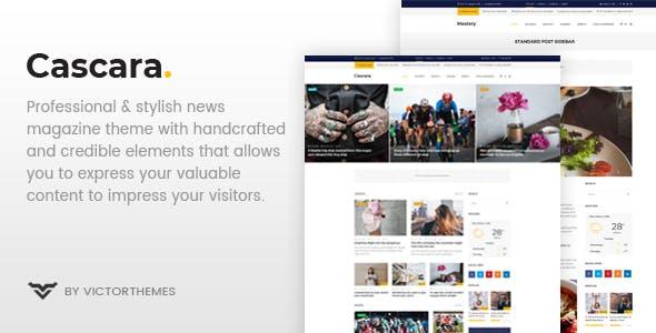 Cascara v1.4 — Blog, News & Magazine WordPress Theme