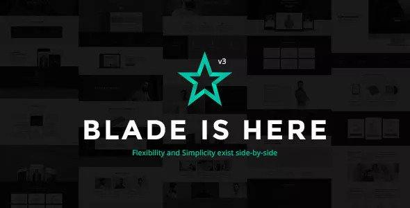 Blade v3.0 — Responsive Multi-Functional Theme