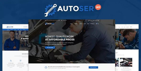 Autoser v1.0.3 — Car Repair and Auto Service Theme
