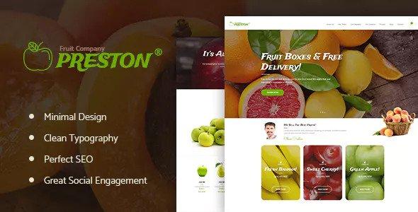 Preston v1.1.1 — Fruit Company & Organic Farming