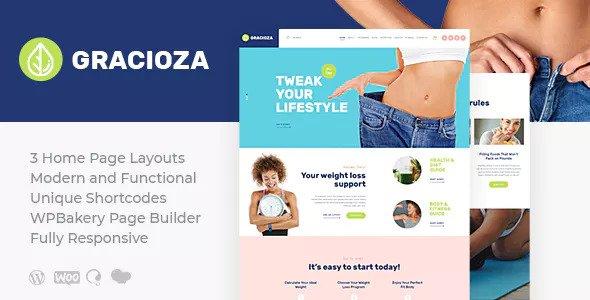 Gracioza v1.0.2 — Weight Loss Company & Healthy Blog