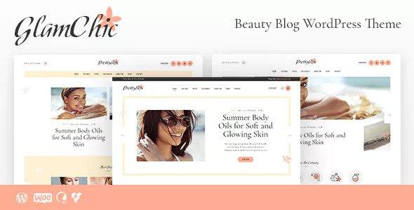 GlamChic v1.0 — Beauty Blog & Online Magazine Theme
