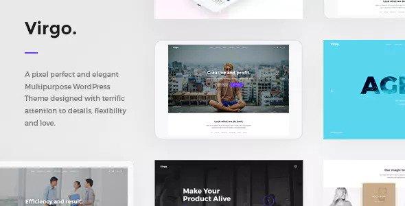 Virgo v1.1.0 — Multipurpose Multi-Concept WordPress Theme