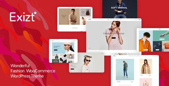 Exizt v1.0.12 — Fashion WooCommerce WordPress Theme