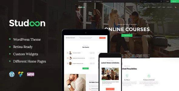 Studeon v1.1.1 — Education Center & Training Courses Theme