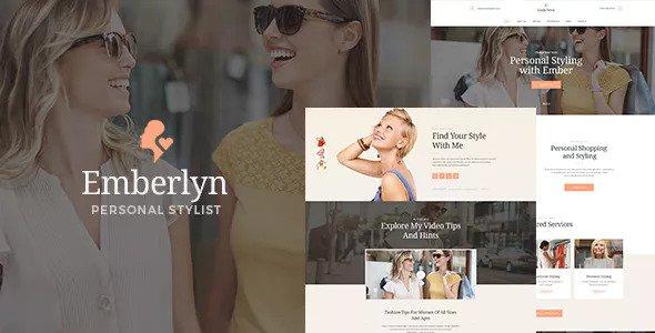 Emberlyn v1.1 — Personal Stylist WordPress Theme