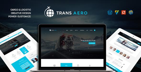 TransAero v1.2.0 — Transport & Logistics WordPress Theme
