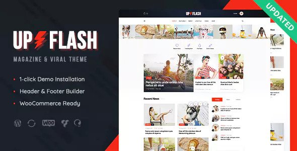 Bazinga v1.1 — Magazine & Viral Blog WordPress Theme