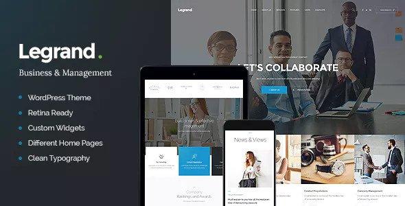 LeGrand v1.2 — A Modern Multi-Purpose Business Theme