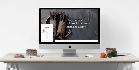 Berghoef — Contemporary HTML5 One-Page Restaurant Template