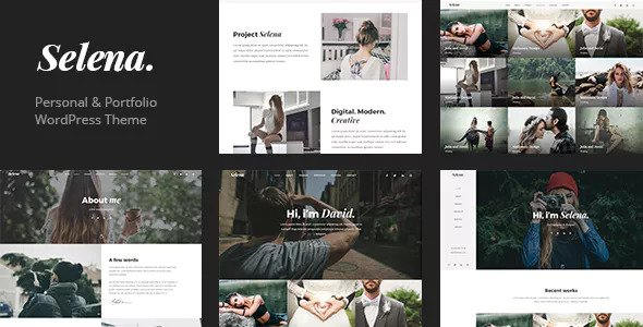 Selena v1.0.3 — Multipirpose WordPress Theme