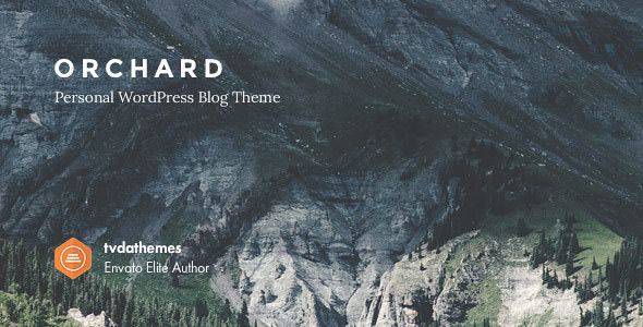 Orchard v1.0.6 — Personal WordPress Blog Theme