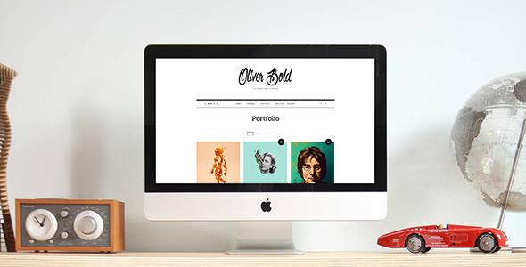 Oliver v1.0.8 — Classic & Minimal Portfolio Theme