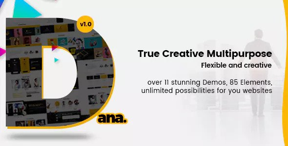 Dana — Ultimate Multi-Purpose Corporate Business and Agency PSD Template