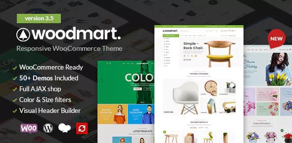 WoodMart v3.5.2 — Responsive WooCommerce Theme