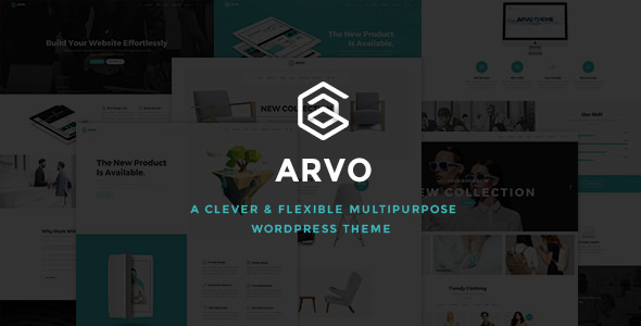 Arvo v1.9 — A Clever & Flexible Multipurpose Theme