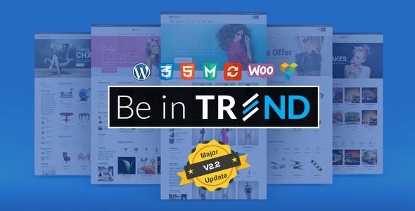 Trend v2.4 — Multipurpose Modern Shop WooCommerce Theme