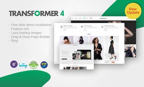 Transformer v4.3.2 — Premium Responsive PrestaShop Theme
