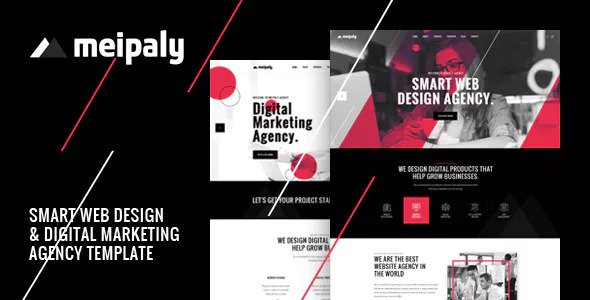 Meipaly — Digital Services Agency HTML5 Responsive Template