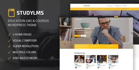 Studylms v1.4 — Education LMS & Courses Theme